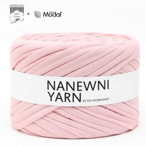 ( Tシャツヤーン )Baby Pink Muji ナニューニヤーン(NANEWNI YARN)【ビタミンペンダントプレゼント】|nesshome