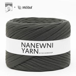 ( Tシャツヤーン ) Modern khaki Muji ナニューニヤーン(NANEWNI YARN)|nesshome