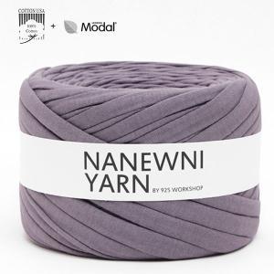 ( Tシャツヤーン )Mystic Lavender Muji ナニューニヤーン(NANEWNI YARN)【ビタミンペンダントプレゼント】|nesshome