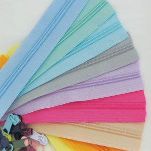 【パーツ】パステルオーダーカット3号樹脂ファスナー90cm (10color)|nesshome