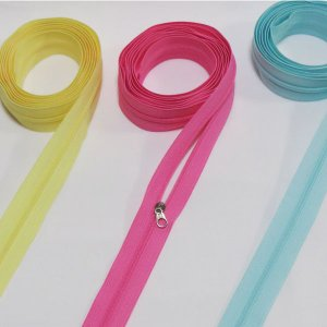 【パーツ】パステルオーダーカット3号樹脂ファスナー90cm (10color)|nesshome|02