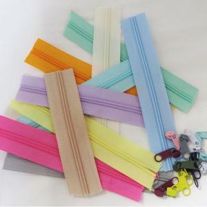 【パーツ】パステルオーダーカット3号樹脂ファスナー90cm (10color)|nesshome|03