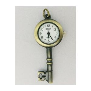 【雑貨】ヴィンテージ Secret key時計のキット/ヴィンテージネックレスタイプ|nesshome