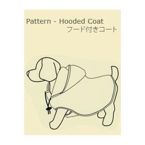 【型紙】フード付きコート