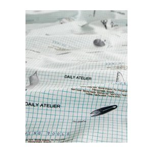 【生地 布 パターンデザイン】【カバー類やカーテンに!】【コットン】ソーイングイラストパターン|nesshome