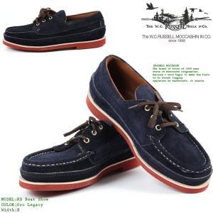 Russell Moccasin RB Boat Shoe Oro Legacy[Eワイズ] ラッセルモカシン ボートシューズ ブーツ 革靴 短靴 モカシン nest001