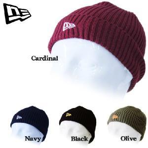 NEWERA BEANIE ニューエラ  ロゴ刺繍ニット帽 KNIT CAP ビーニー nest001