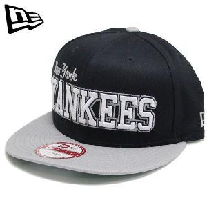 NEWERA 9Fifty MLB New York YANKEES Navy/Grey ニューエラ ニューヨークヤンキース ベースボールキャップ|nest001