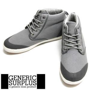 Generic Surplus Argus Fall 1 Canvas Rubber Grey M13AR01 ジェネリックサープラス スニーカー02P01Nov14|nest001