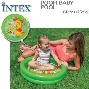 INTEX プー・ベビープール ME-7603 58922NP プーさんのプール ディズニー 小さいプール 初めてのプール インテックス ビニールプール nest001