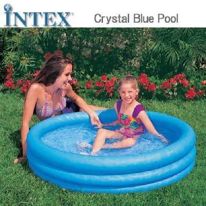 [限定特典][あす楽]INTEX クリスタルブループール ME-7033 59416NP CRYSTAL BLUE POOL インテックス シンプル 家庭用|nest001