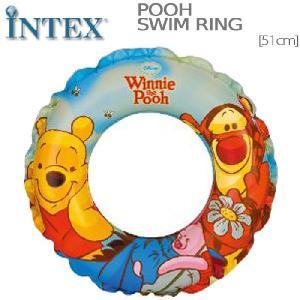 INTEX プーさん 浮輪 WINNIE THE POOH SWIM RING インテックス|nest001