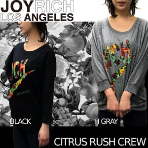 【SALE!!】JOYRICH Tシャツ Womens CITRUS RUSH RICH CREW F1211PO ジョイリッチ■AP_10off nest001