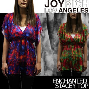 【SALE!!】JOYRICH シフォンチュニックワンピース Enchanted Stacey Top F1209OP ジョイリッチ■AP_10off[DM便送料無料!!]|nest001