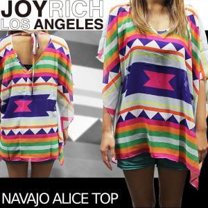 【SALE!!】JOYRICH Tシャツ Navajo Alice Top F1209PO ジョイリッチ■AP_10off[DM便送料無料!!] nest001