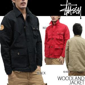 STUSSY ウッドランドジャケット Woodland Jacket 0150138 ステューシー|nest001
