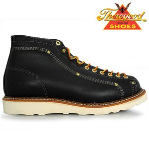 THOROGOOD Lace To Toe Roofer Boot  814-6233 BLACK BOOTS ソログッド ブーツ|nest001