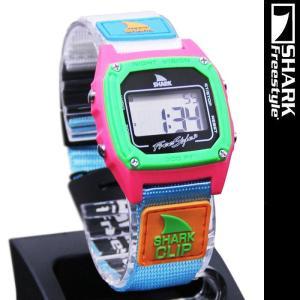 Freestyle Shark Clip Black Neon FS84861 フリースタイル シャーク クリップ 腕時計|nest001