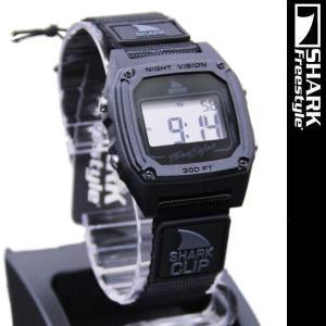 Freestyle Shark Clip Black FS84978 フリースタイル シャーク クリップ 腕時計|nest001