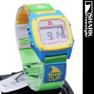 Freestyle Shark Clip White Neon FS84862 フリースタイル シャーク クリップ 腕時計|nest001