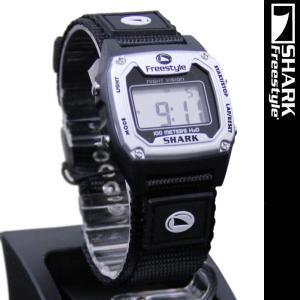Freestyle Shark Classic Nylon Silver Black 779024 フリースタイル シャーク クラシックナイロン 腕時計|nest001
