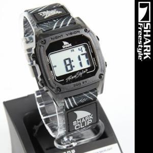 Freestyle SHARK Then One Shark Clip Black 10019187 フリースタイル シャーク クリップ サーフィン コラボモデル 腕時計|nest001