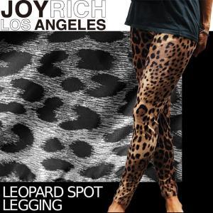 【SALE!!】JOYRICH 豹柄レギンス Leopard Spot Legging F1263PT ジョイリッチ■AP_10off[DM便送料無料!!]|nest001
