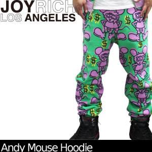 【SALE!!】JOYRICH スウェットパンツ Andy Mouse Sweat Pants U1310PT  ジョイリッチ■AP_10off[DM便送料無料!!]|nest001