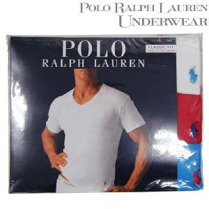 POLO RALPH LAUREN 無地T VネックTシャツ3枚組 3 V-Necks RL66 ポロ ラルフローレン|nest001