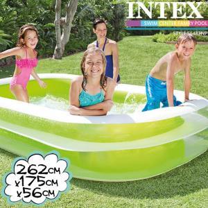 INTEX スイムセンターファミリープール ME-7016 56483NP インテックス