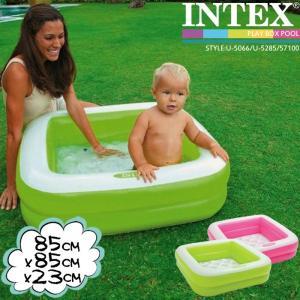 [限定特典]INTEX プレイボックスプール U-5066 57100NP Play Box POOL インテックス|nest001