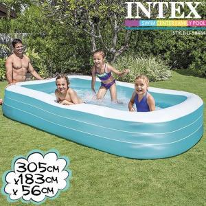 [限定特典]INTEX スイムセンターファミリープール ME-7028 58484NP インテックス 大型プール nest001