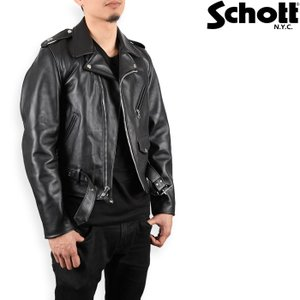 Schott 613 ワンスター ダブル ライダース ショット 革ジャン|nest001