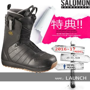 16-17 SALOMON LAUNCH Black/Det...