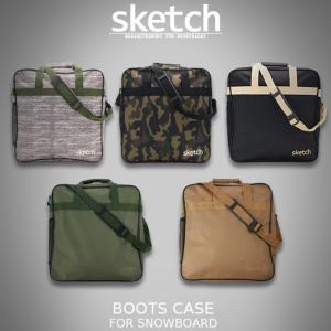 【再入荷&新色追加】sketch スノーボード用ブーツケース BOOTSCASE スケッチ ブーツケース  新色 新作 メンズ レディース ユニセックス ds-Y|nest001