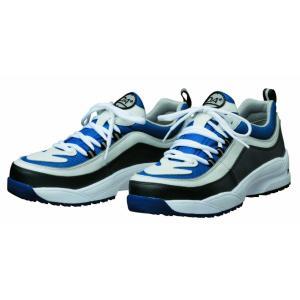 DONKEL ドンケル ダイナスティエアー安全靴 ブルー×ホワイト 24cm|net-buhinkan