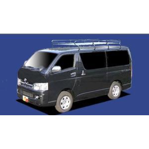 ■TUFREQ ルーフキャリア ハイエースバン KDH200系 標準ルーフ用/Lシリーズ  長さ:ロング L550 net-buhinkan