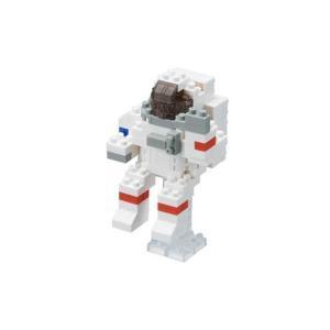 【商品名】 カワダ NBC_198 nanoblock 宇宙飛行士 【nanoブロック】