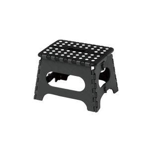 【商品名】 セノ・ビー22cm ブラック 10056 【ジャンル・特徴】 折り畳み式の踏み台。天板は...