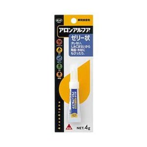 【商品名】 (まとめ)コニシ アロンアルフア ゼリー状 4g (1本)【×10セット】