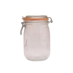 シンプルな広口デザインで食材を入れやすく、またお手入れも楽々♪ガラス製なので酸に強く、臭いもつきにく...