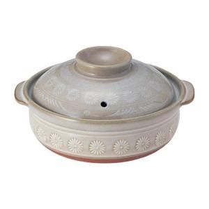 ペタライト(耐熱原料)使用で耐熱性に優れている土鍋です。 生産国:日本 素材・材質:陶器 商品サイズ...