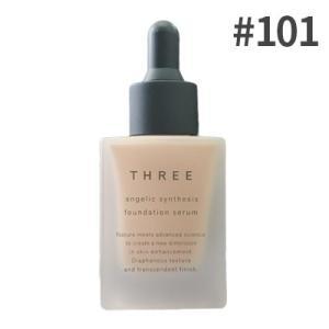 THREE(スリー)  アンジェリックシンセシスファンデーションセラム #101 ( リキッドファン...