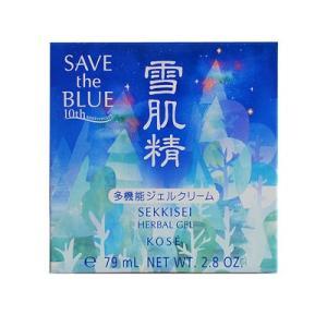 コーセー 雪肌精 ハーバルジェル 80g (SAVE the BLUE) ( フェイスクリーム )(2018秋・冬)|net-pumpkin