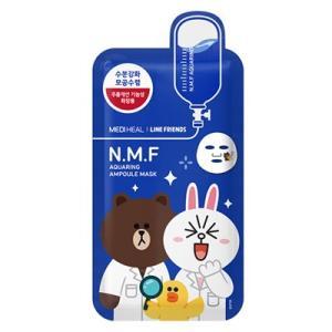 MEDIHEAL(メディヒール ) LINE FRIENDS N.M.F アクアリング アンプルマスク (1枚) ( マスク )|net-pumpkin