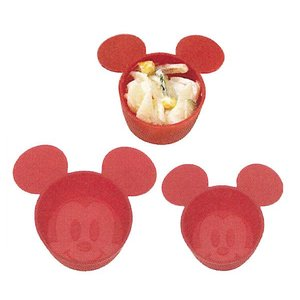 ミッキーマウスシリコン製おかずカップ 122125|net-shibuya