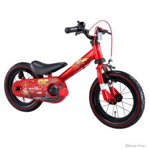 【送料無料・ラッピング不可・同梱不可】アイデス<ides> カーズ<Cars> じてんしゃデビュー2ni1<自転車・ファーストサイクル> レッド 00261 [bike]|net-shibuya
