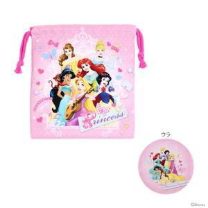 ディズニー・プリンセスのかわいいミニサイズの巾着♪ 歯ブラシやコップを入れたり、使いやすいサイズです...