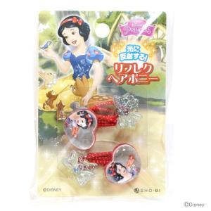 ディズニー・プリンセス リフレクヘアポニー ハート型 スノーホワイト柄 DN82205|net-shibuya