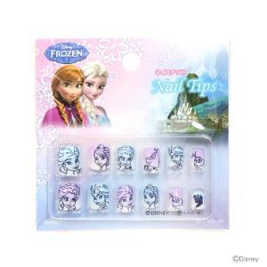 アナと雪の女王 ネイルチップ <子ども用つけ爪> 12枚入り DN82399  net-shibuya